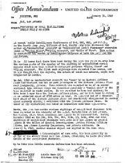 Меморандум ФБР, 1949 год, стр 1