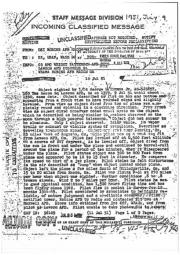 Сообщение разведки ВВС США, 1951 год, стр. 1