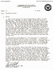 Меморандум Хальта, 1981 год