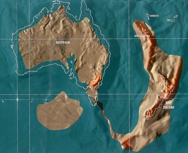 Будущая карта Австралии и Новой Зеландии по Скаллиону