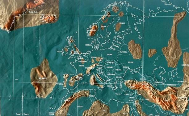 Будущая карта Европы по Скаллиону