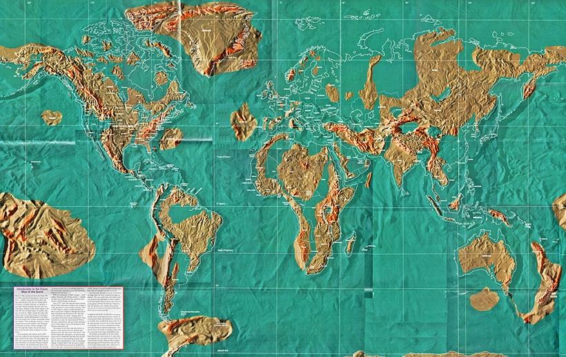 Будущая карта мира по Скаллиону