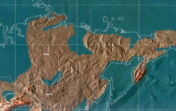 Будущая карта России по Скаллиону