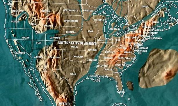 Будущая карта США по Скаллиону