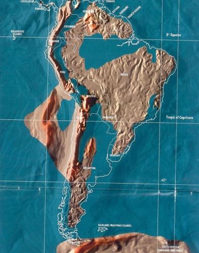 Будущая карта Южной Америки по Скаллиону