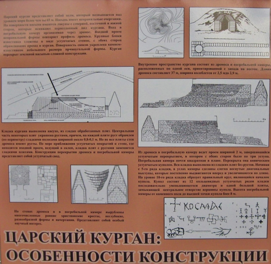 Особенности конструкции Царского кургана