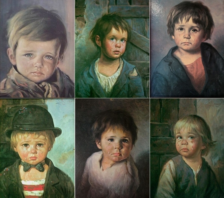 Некоторые картины Бруно Амадио
