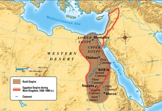 Мероитское царство, 700 г. до нашей эры