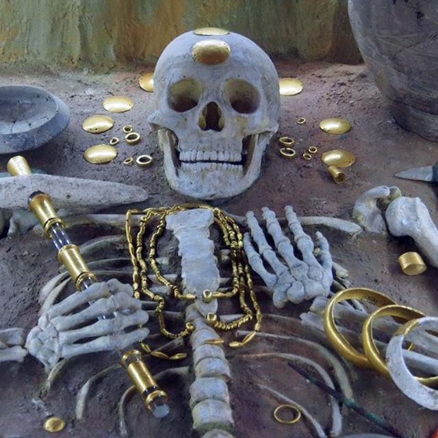 Тайна самого древнего золота мира: погребение V-го тысячелетия до н.э.