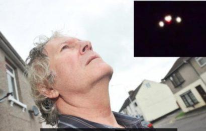 В Великобритании десятки людей наблюдали НЛО с тремя яркими огнями