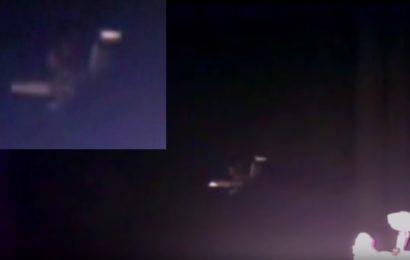 В поле зрения web-камеры на МКС появился огромный объект