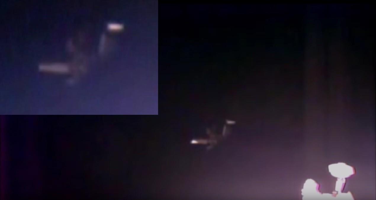 В поле зрения веб-камеры на МКС появился огромный объект