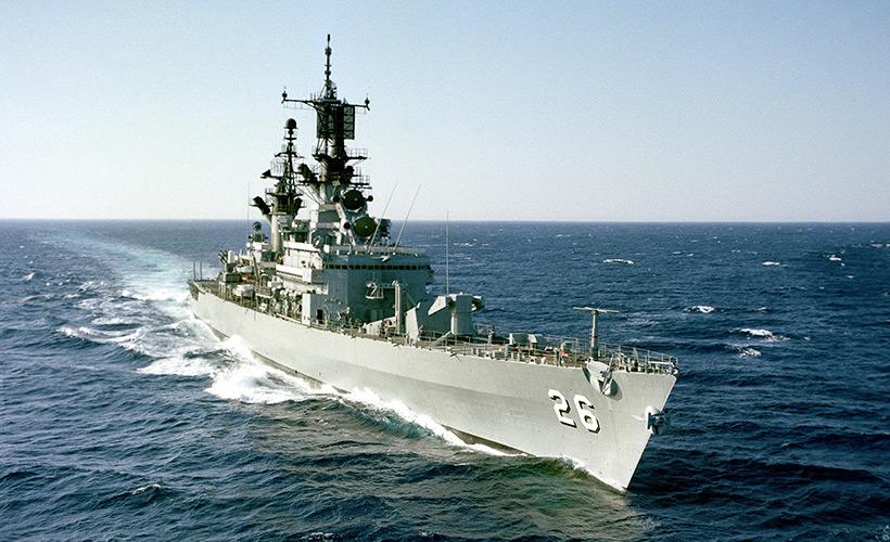 Ракетный крейсер «Белкнап»