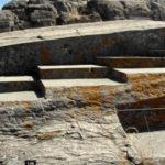 Следы размягчения камня в перуанском городе Куско