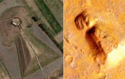 На Марсе обнаружен объект, похожий на земную постройку