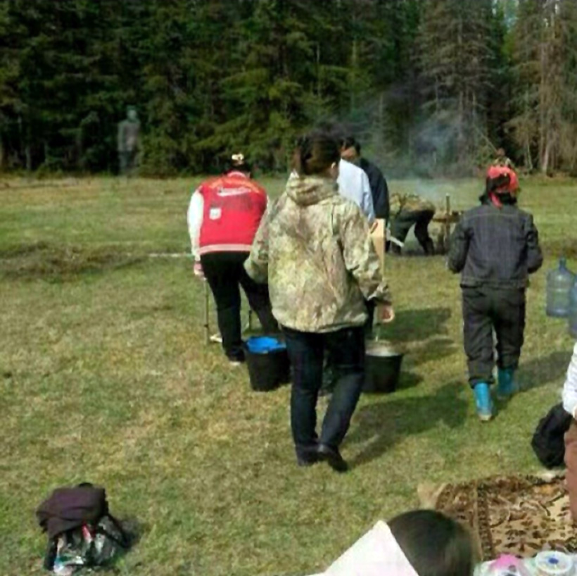 Жители Якутии собирали ягоды вместе с привидением
