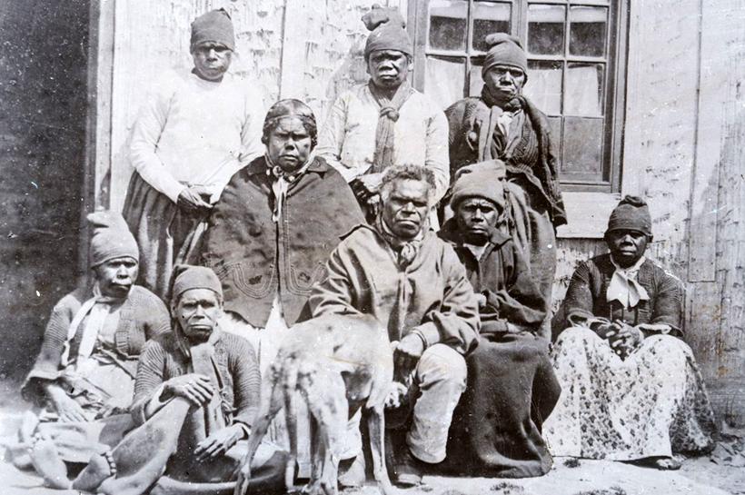 Как англичане истребили аборигенов Тасмании