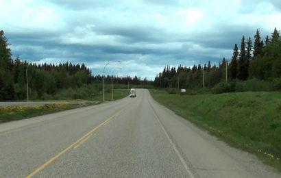 Встреча с НЛО на скоростной трассе Аляски (Канада)
