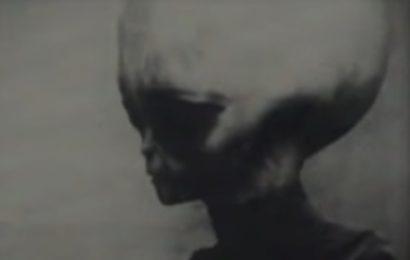 Видео «серого» пришельца