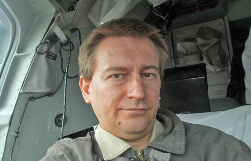 Интервью Антоном Анфаловым об НЛО в Крыму