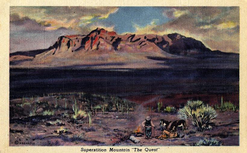 Горы Суеверий