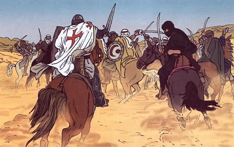 Ассасины и крестоносцы
