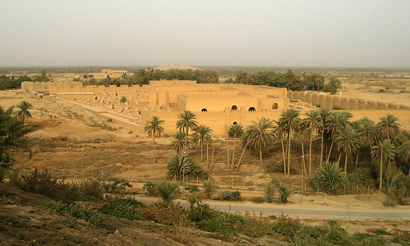 Руины Вавилона в наши дни