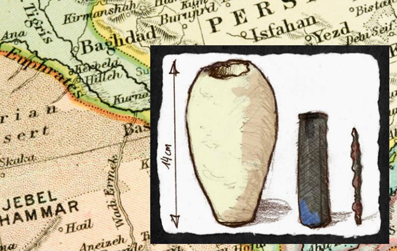 Загадочная древняя батарейка