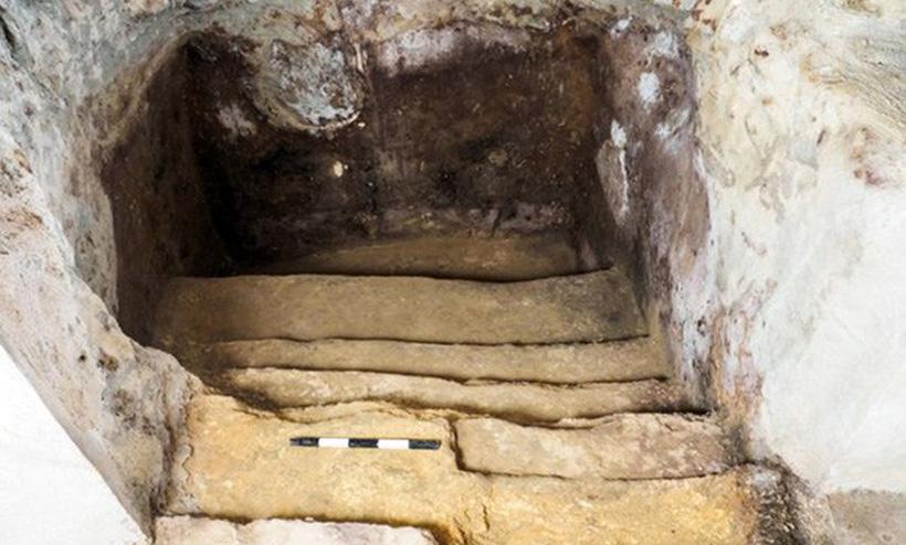 Древняя ритуальная ванна в Иерусалиме
