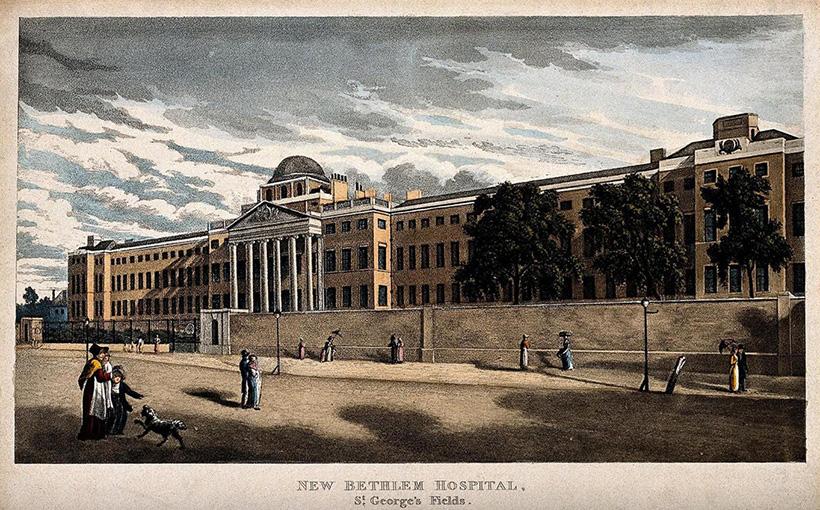Бетлемская больница в Сент-Джордж Филдс