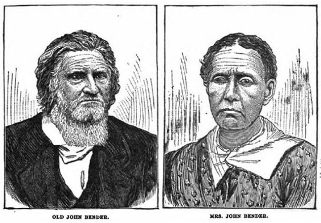 Джон Бендер и его жена