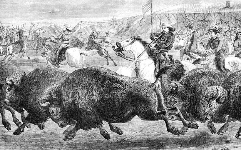 Охота на бизонов