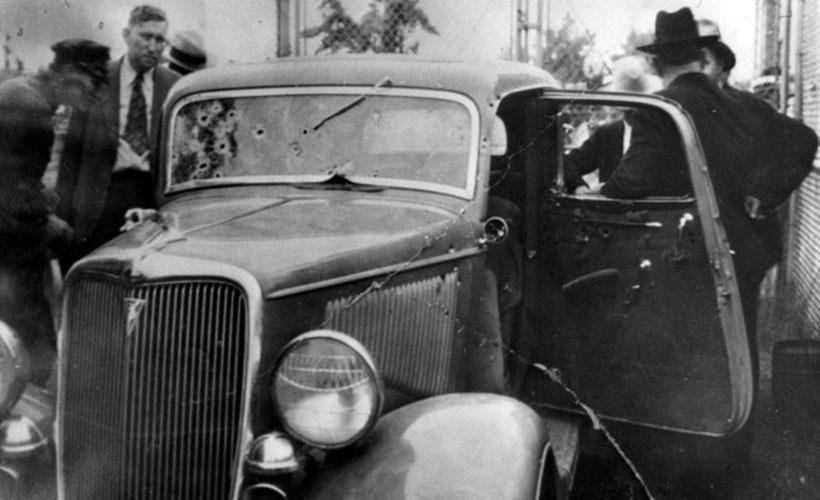 Автомобиль Бонни и Клайда