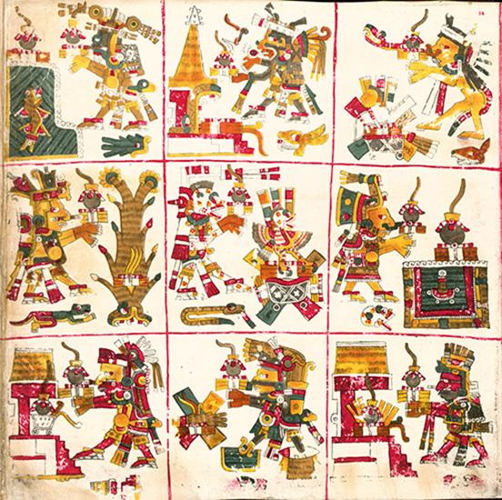 Страница из Кодекса Борджиа