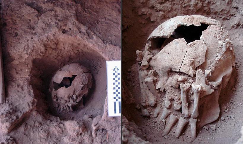 В Бразилии найдена древнейшая жертва ритуального обезглавливания