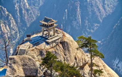 Тайны пещеры Хуашань в Китае