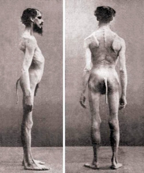 Мужчина с хвостом