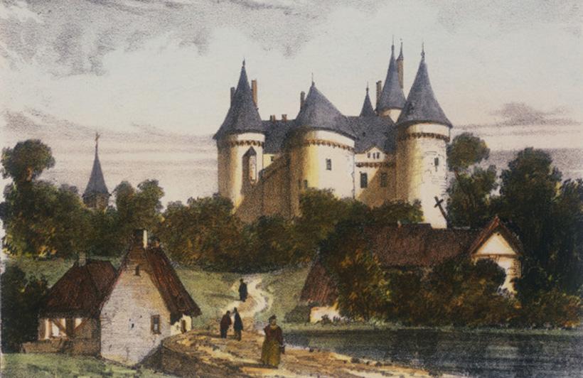 Призрак замка Комбур