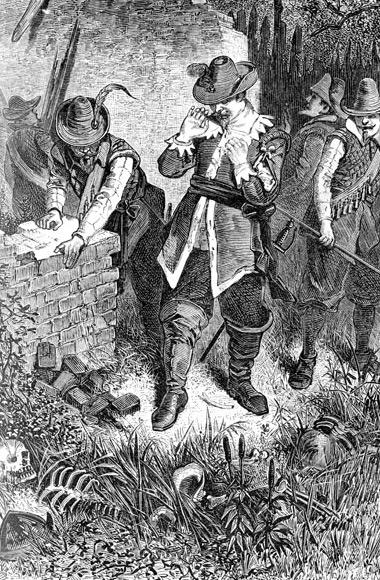 Найденный погибшим поселенец острова Роанок