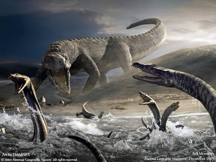 Как погибали динозавры - версия