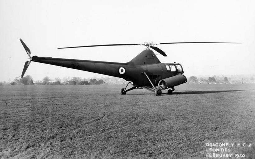 Вертолет 1950-х годов
