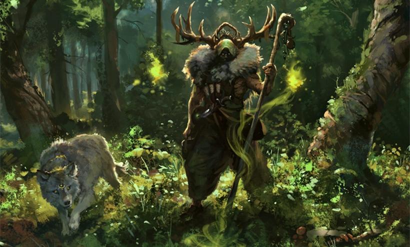 Кельтские друиды