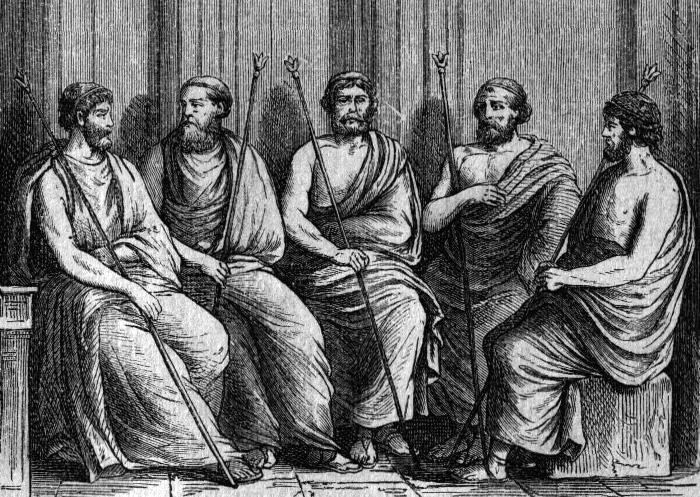 Эфоры Спарты