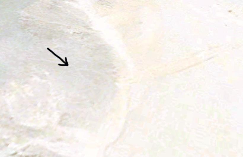 Загадочные линии под песками Египта