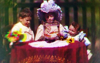 В Англии найден самый старый цветной фильм в истории кино