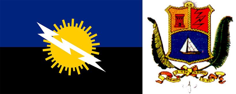 Флаг и герб штата Сулия