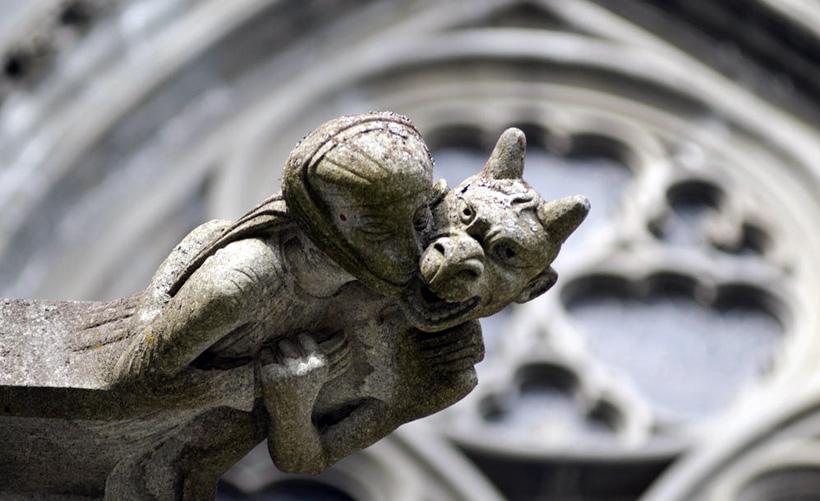 Горгульи Нидаросского собора в Тронхейме