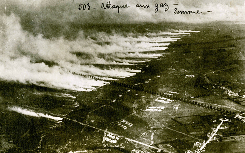 Газовая атака у города Ипр