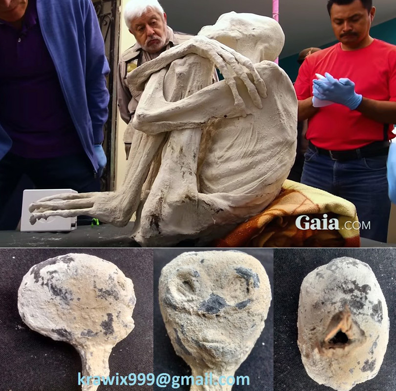 Мумифицированный труп пришельца найден в Перу