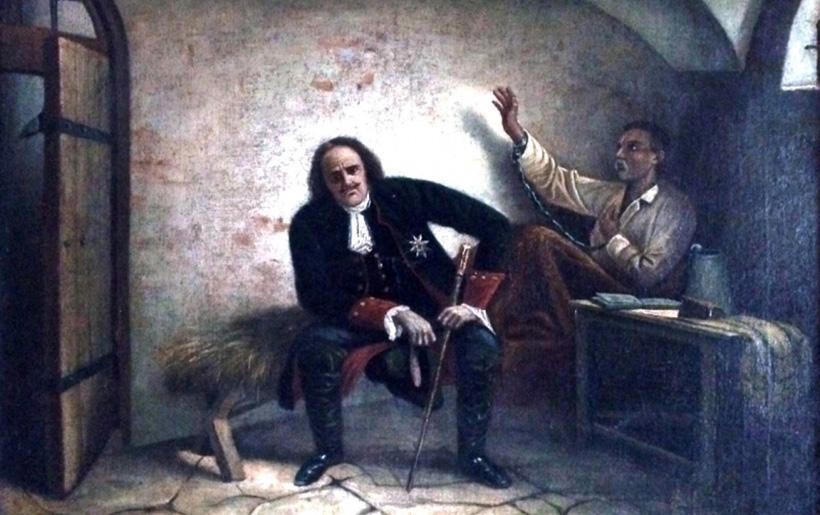 Петр I и Павел Полуботок